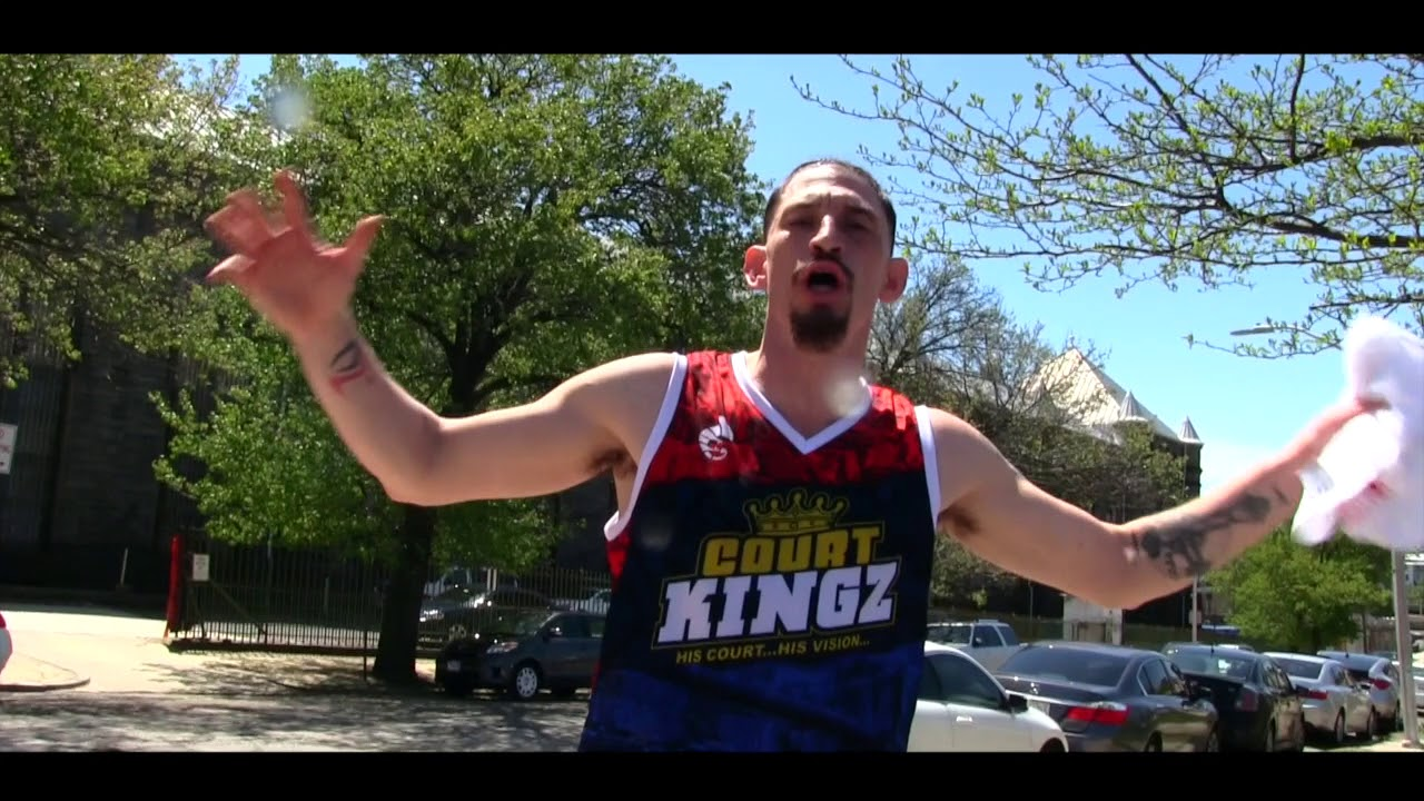 White Chocolate Challenges StreetBall!