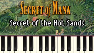 Secret of the Hot Sands - Secret of Mana [Synthesia]