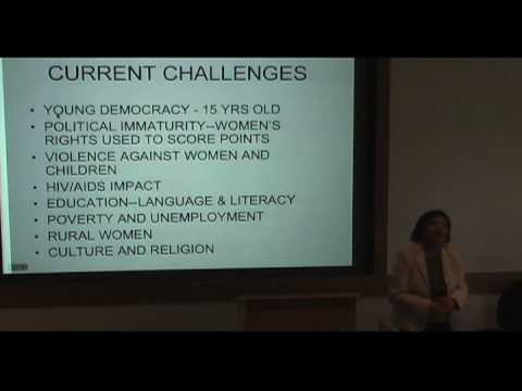 International Studies Symposium Series - Rashida Manjoo Part 6