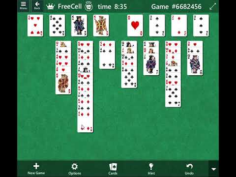 Microsoft Solitaire Collection - Freecell - Game #6682456 & 384373