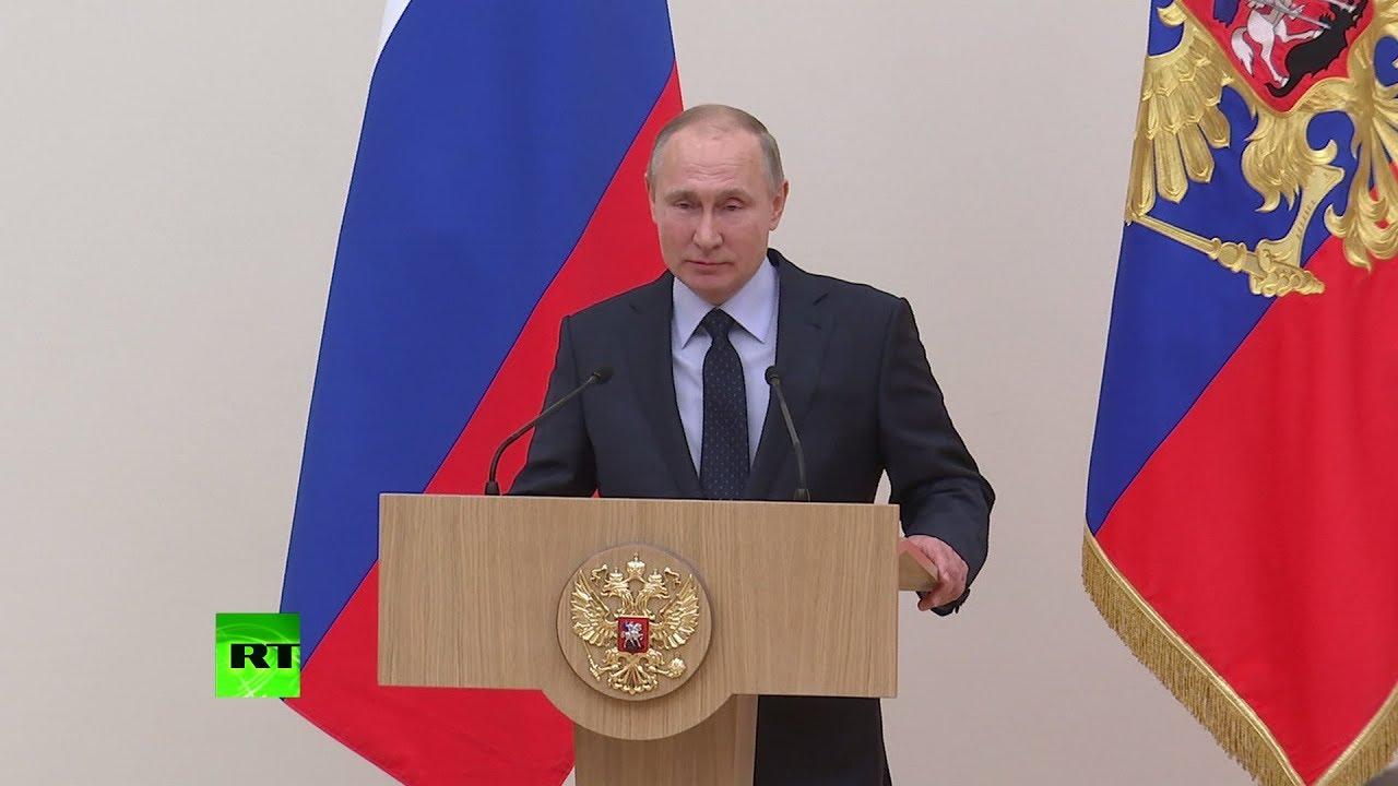 Владимир Путин попросил прощения у российских олимпийцев