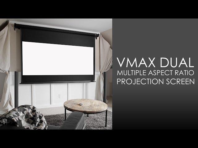 Elite Screens VMAX Dual Series Electric Projection Screen