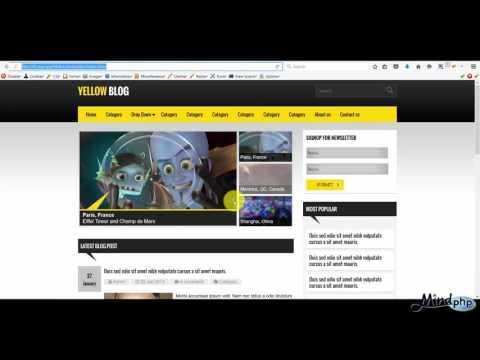 Joomla Template Develop สอนสร้าง เทมเพลต จูมล่า การดูตำแหน่งโมดูล ทำหน้าเว็บ เปลี่ยนโลโก