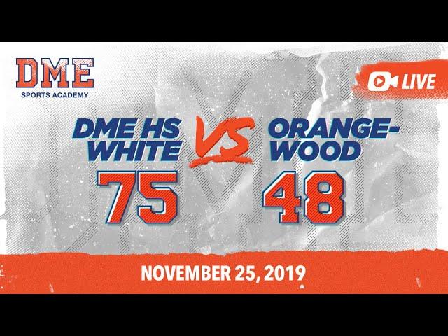 High School White vs Orangewood