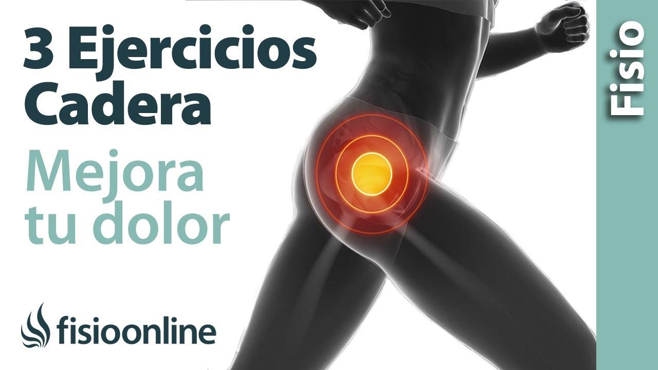 Los 3 Mejores Ejercicios Para La Cadera Mejora Tus Dolores De Cadera Youtube