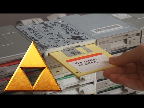 The Floppotron: The Legend of Zelda