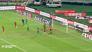 Gol Alexandre Pato - Beijing Guoan x Tianjin Quanjian - 13a Rodada da Super Liga da China 2018