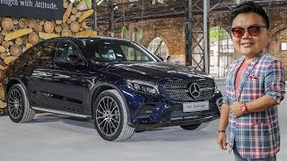 FIRST LOOK: Mercedes-Benz GLC300 Coupe AMG Line in Malaysia - RM400k