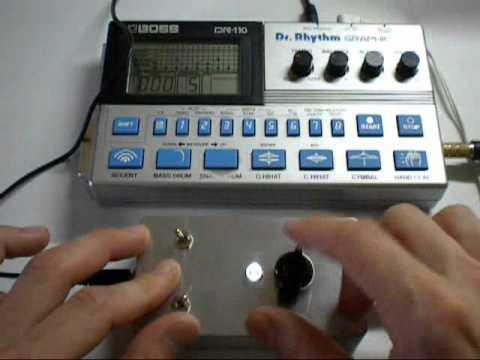 GetLoFi Chip Tone Generator 8 Step Random Bass Note Generator pt2. Sync with Drum machine