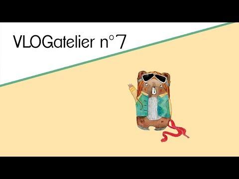 VLOGatelier N°7 : Une école. Une Classe GS. Une Illustratrice. Un Livre.