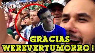 GRACIAS WEREVERTUMORRO - SOY JOSE YOUTUBER