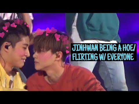 JINHWAN BEING A HOE/FLIRTING WITH EVERYONE