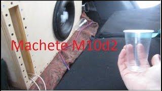 Как играет  Alphard machete M10d2 в  Весте седан ??