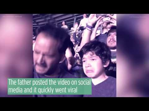 Boy with autism's reaction at a Coldplay concert touches millions
