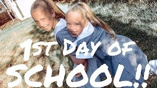 SCHOOL'S BACK DITL VLOG || ELLA'S STARTING SCHOOL!! || JESS & TRIBE