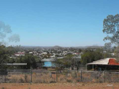 Marly's visit to Broken Hill, outback NSW, Australia