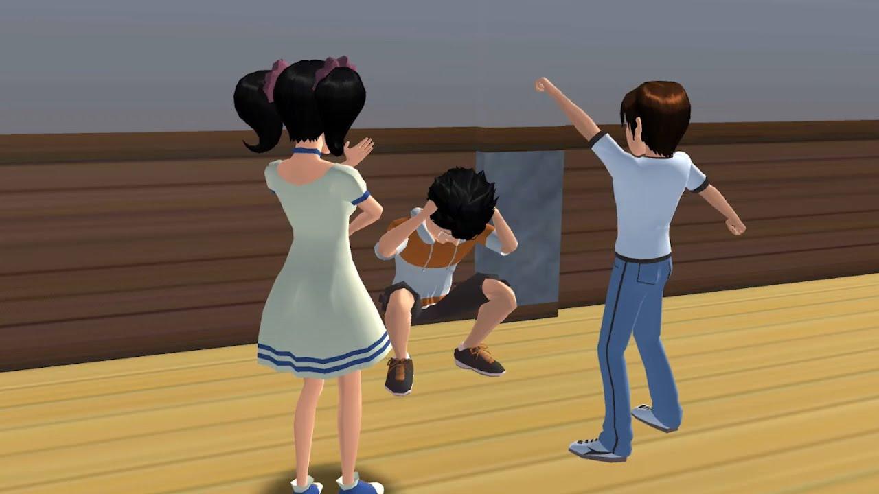 樱花校园模拟器《压力山大的小男孩》# 1 櫻花校園模擬器|樱花校园|櫻花校園|SakuraSchoolSimulator|櫻花校園故事|讲故事