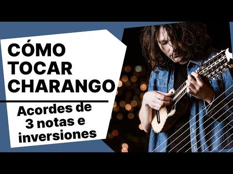 FOLKLORE BOLIVIANO - TUTORIAL PARA CHARANGO: ACORDES DE TRES NOTAS E INVERSIONES
