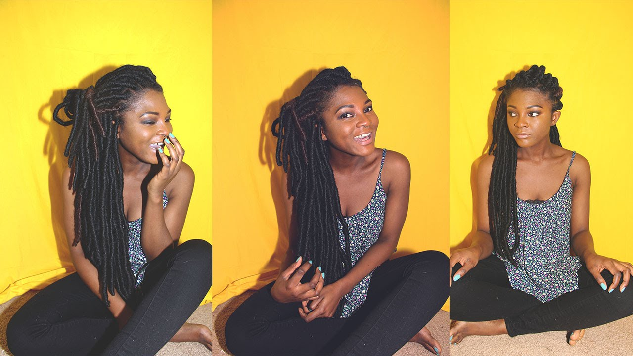 how to keep your faux locs from unraveling