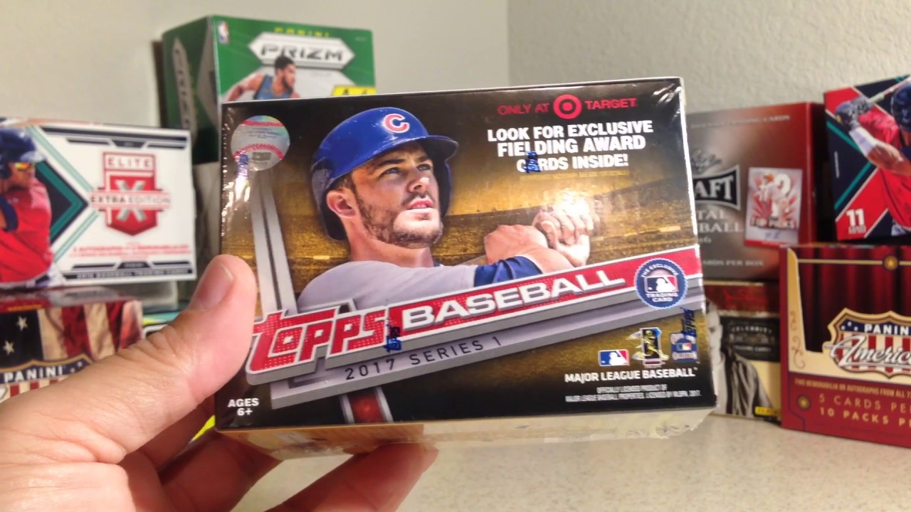 Opening A Blaster Box Of 2017 Topps Baseball Cards Part 1