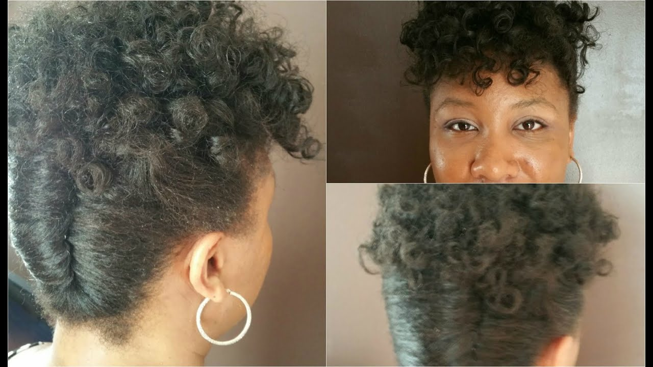 Rod Twist Natural Hair