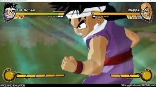 RPCS3 PS3 Emulator - Dragon Ball Z Burst Limit Ingame #2! DX12