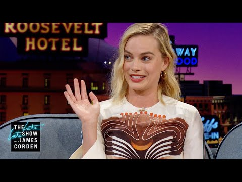 Margot Robbie's Date Tonya Harding Owned the Globes