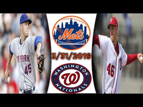 New York Mets vs Washington Nationals | Game Highlights