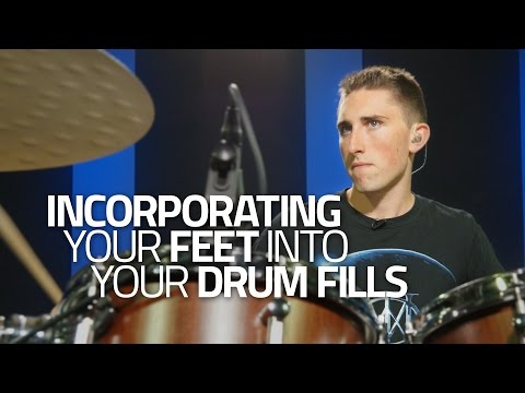 How To Incorporate Your Feet Into Your Drum Fills - Drumeo Lesson