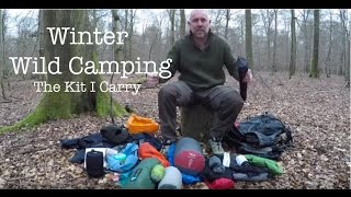 Wild Camping Winter Kit
