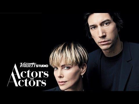 Adam Driver \u0026 Charlize Theron - Actors on Actors - Full Conversation