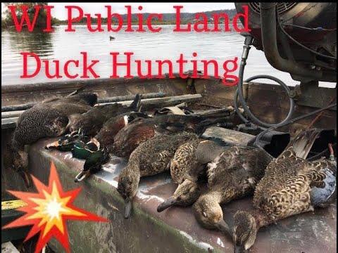 Upper Mississippi River Duck Hunting