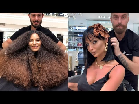 New Trendy Hairstyles By Mounir Salon | Hair Color Transformation Tutorials