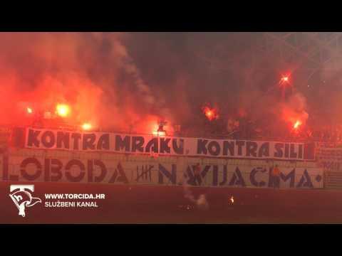 Torcida Split / Hajduk Split - NK Rijeka 1:1 (24. kolo MAXtv Prva Liga)
