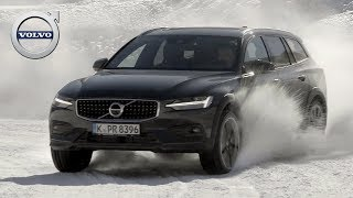 2019 Volvo V60 Cross Country | Pine Grey | Snow Driving Track, Interior, Exterior (D4 AWD)