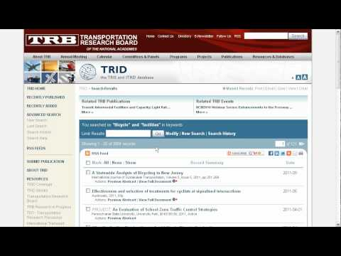 Introduction to TRID