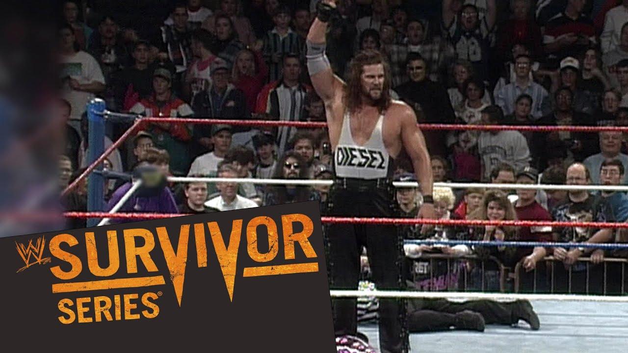 Survivor Series Recall 1995  Bret Hart Vs  Diesel