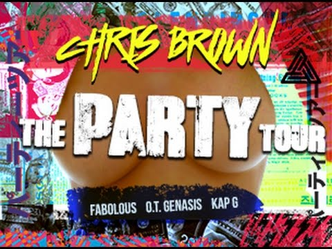 Chris Brown party tour in nyc