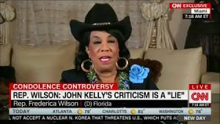Dem Rep Frederica Wilson: Gen. Kelly Calling Me