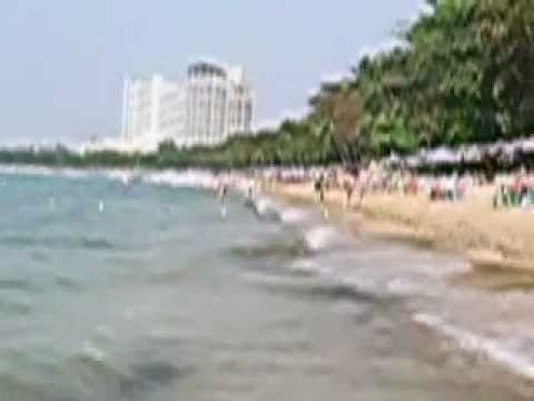 Beautiful Pattaya Beach, Thailand. Videos/Slideshows from around the world