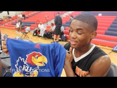 Markese Jacobs is THE MOST ATHLETIC & TOUGHEST PG IN THE COUNTRY!! Kansas Commit Summer Mixtape!!
