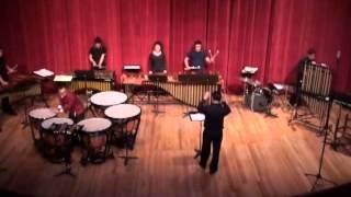 Ney Rosauro Concerto for Timpani and Percussion Ensemble  -I. Bachroque -II. Aria -III. Horse Ride