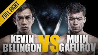 ONE: Full Fight | Kevin Belingon vs. Muin Gafurov | A Thunderous Return | October 2016