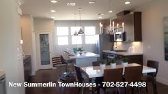 New Summerlin Las Vegas Townhouses for Sale (New construction)