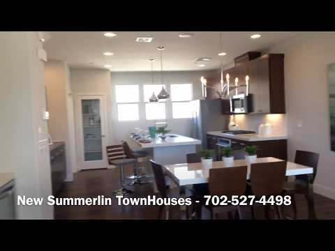 New Summerlin Las Vegas Townhouses For Sale New