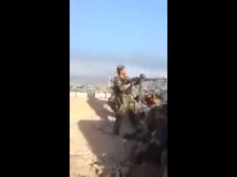 Ermeni Askeri Azeri Sniperi Tarafindan Vurulma Ani