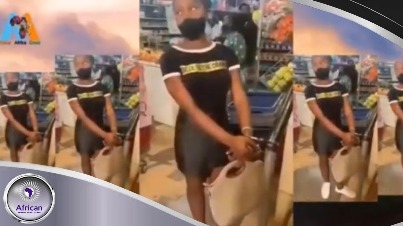 Footage Of A Chinese Man Handcuffing A South African Woman In A Store While Most People Pass By