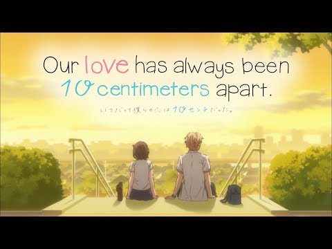 Our Love Has Always Been 10 Centimeters Apart Trailer Youtube