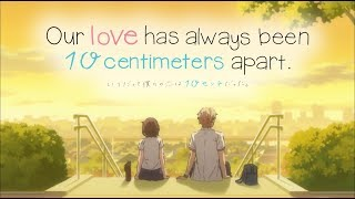 Watch Our love has always been 10 centimeters apart.  Anime Trailer/PV Online