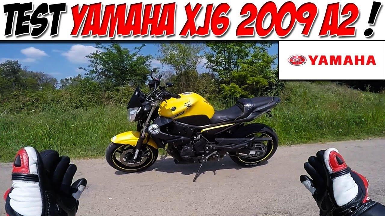Moto Vlog 129 Test Yamaha Xj6 34ch A Fuir Youtube